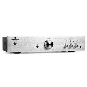 Hi-fi erősítő Auna AV2-CD508, sztereó, nemes acél, 600 W kép