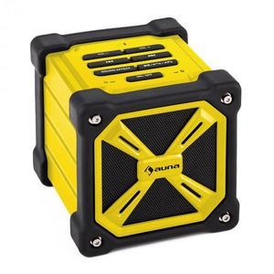 Auna TRK-861, bluetooth hangfal, elem, sárga kép