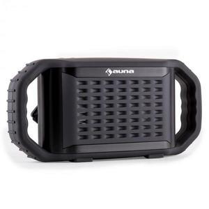 Auna Poolboy, bluetooth hangfal, fekete, USB, AUX, vízhatlan kép