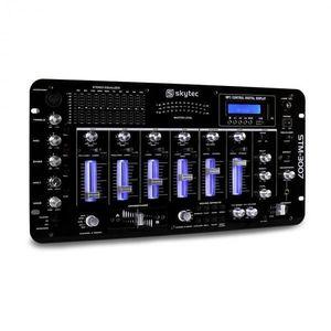 Skytec STM-3007, 6 csatornás DJ keverőpult, bluetooth, USB, SD, MP3 kép