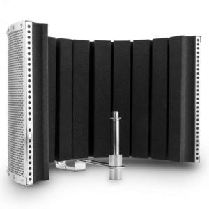 Auna Pro MP32 MKII, ezüst, mikrofon abszorber, adapterekkel együtt kép