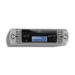 Auna KR-500 CD, konyhai rádió, internet/PLL FMrádió, WiFi, CD/MP3-lejátszó kép