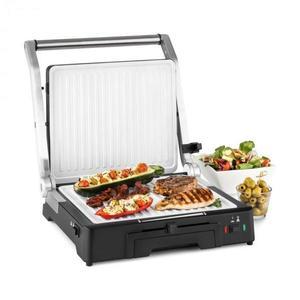 Klarstein Burgermeister 3 az 1-ben kontakt grill, asztali grill, panini grill, 2000 W kép