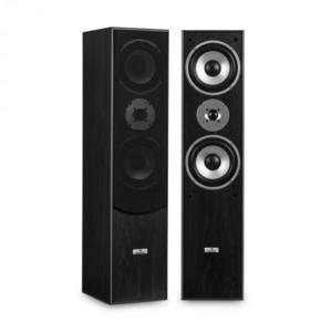 Auna L766 3-utas bassreflex HiFi hangfal pár, fekete kép