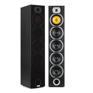 Auna V7B 4-utas bassreflex álló hangfalak, 440W, eltávolítható első burkolat, fekete kép