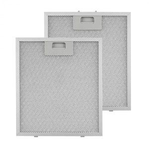 Klarstein zsírszűrő, pótszűrő, alumínium, 25, 8 x 29, 8 cm, 2 darab, tartozék kép