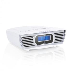 Auna Dreamee DAB+, rádiós ébresztőóra, CD lejátszó, DAB+/FM, CD-R/RW/MP3, AUX, retró, fehér kép
