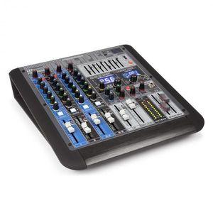 Power Dynamics PDM-S604 KEVERŐPULT, 6-CSATORNÁS, DSP/MP3, USB PORT, BLUETOOTH VEVŐ kép