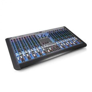 Power Dynamics PDM-S2004, 20 csatornás keverőpult, DSP/MP3, USB port, Bluetooth kép