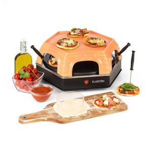 Klarstein Capricciosa, pizza sütő, 1500 W, melegentartó funkció, terrakotta kép
