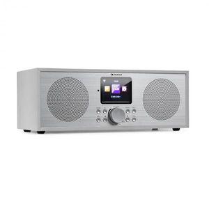 Auna Silver Star Stereo, internet DAB+/FM rádió, WiFi, BT, DAB+/FM, fehér kép