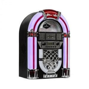 Auna Arizona, jukebox, BT, FM rádió, USB, SD, MP3, CD lejátszó, fekete kép