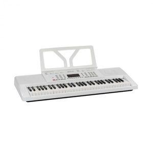 SCHUBERT Etude 61 MK II, keyboard, 61 dinamikus billentyű, 300 hang/ritmus, fehér kép