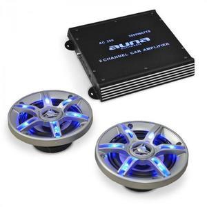 Electronic-Star BeatPilot FX-202 autós hifi szett, hangfalak, erősítő kép