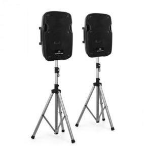 """Malone PW-2908A, 150 W, aktív hangfal, 20 cm (8""""), fekete kép"""