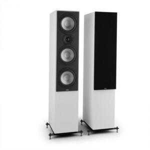 Numan Reference 801, háromutas álló hangfalpár, fehér, fekete borító mellékelve kép