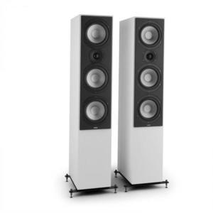 Numan reference 801, fehér, háromsávos toronyhangfalak, pár kép