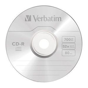 CD-R Verbatim DL+ 80min BOX Crystal kép