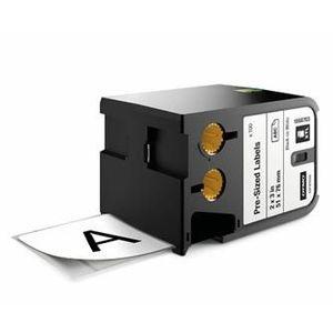 Dymo XTL 1868703, 51mm x 76mm, 100db, fekete nyomtatás / fehér alapon, eredeti szalag kép