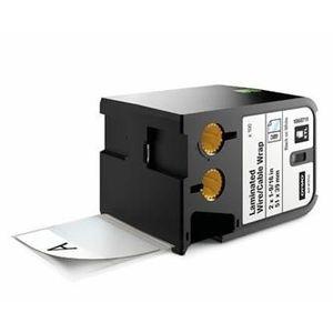 Dymo XTL 1868711, 51mm x 39mm, 100db, fekete nyomtatás / fehér alapon, eredeti szalag kép