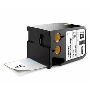 Dymo XTL 1868712, 51mm x 102mm, 70db, fekete nyomtatás / fehér alapon, eredeti szalag kép