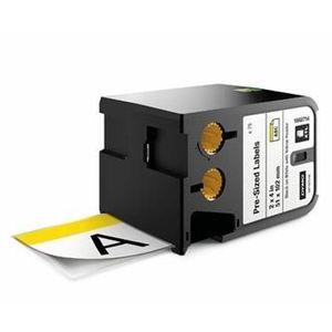 Dymo XTL 1868714, 51mm x 102mm, 70db, fekete nyomtatás / fehér alapon, eredeti szalag kép