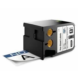 Dymo XTL 1868715, 51mm x 102mm, 70db, fekete nyomtatás / fehér alapon, eredeti szalag kép