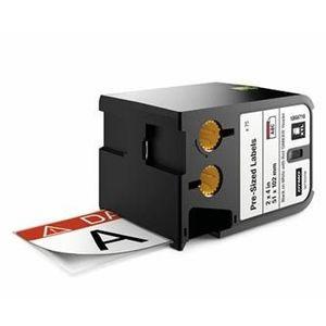 Dymo XTL 1868716, 51mm x 102mm, 70db, fekete nyomtatás / fehér alapon, eredeti szalag kép