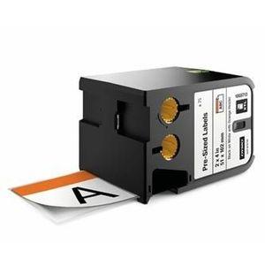 Dymo XTL 1868713, 51mm x 102mm, 70db, fekete nyomtatás / fehér alapon, eredeti szalag kép