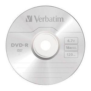 DVD-R Verbatim 4, 7GB 16x SPINDL kép