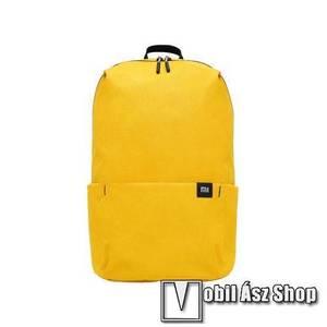 XIAOMI hátizsák - ultrakönnyű, kopásálló poliészter anyag, vízálló, 10L kapacitás - SÁRGA - 340 x 225 x 130mm kép