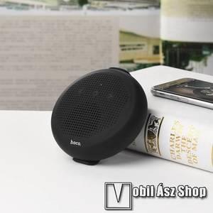 HOCO BS18 hordozható bluetooth hangszóró - CSR 4.2, 5W teljesítmény, 500mAh beépített akkumulátor, IPX7 minősítésű vízállóság! - FEKETE kép
