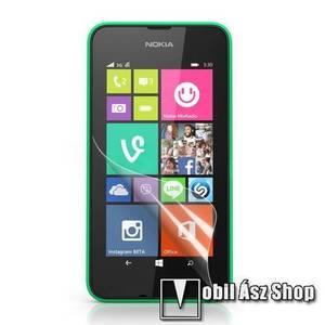 Képernyővédő fólia - Clear - 1db, törlőkendővel - NOKIA Lumia 530 / NOKIA Lumia 530 Dual SIM kép