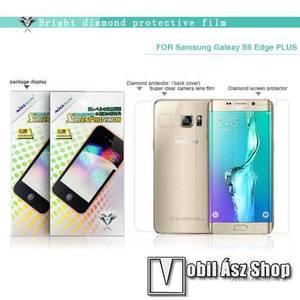 NILLKIN Full Body Diamond képernyővédő és hátlapvédő fólia - 1-1db - HD Clear - SAMSUNG SM-G928 Galaxy S6. Edge + - GYÁRI kép