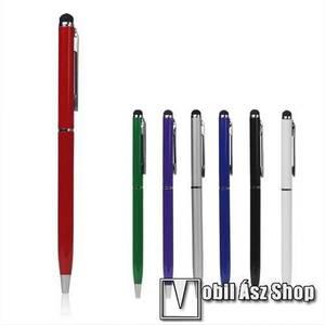 Érintőképernyő ceruza / golyós toll - SILVER / EZÜST kép