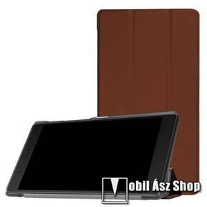 Notesz / mappa tok - BARNA - oldalra nyíló flip cover, TRIFOLD asztali tartó funkciós, mágneses záródás - Lenovo Tab 7 Essential (2017) / Lenovo Tab 4 7 (TB-7304F) kép