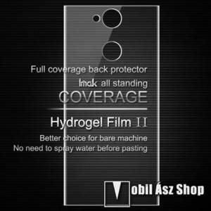 IMAK HD Hydrogel Protector hátlapvédő fólia - 1 db, 0, 15 mm, A TELJES HÁTLAPOT VÉDI! - SONY Xperia XA2 - GYÁRI kép