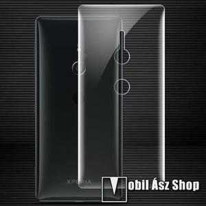 IMAK HD Hydrogel Protector hátlapvédő fólia - 1 db, 0, 15 mm, A TELJES HÁTLAPOT VÉDI! - SONY Xperia XZ2 (2018) - GYÁRI kép
