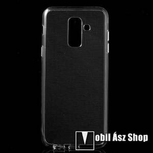 Szilikon védő tok / hátlap - ÁTLÁTSZÓ - SAMSUNG SM-A605G Galaxy A6 Plus (2018) kép