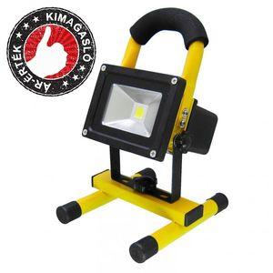 Hordozható, akkumulátoros LED reflektor kép