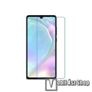 Képernyővédő fólia - Ultra Clear - 1db, törlőkendővel - HUAWEI P30 kép