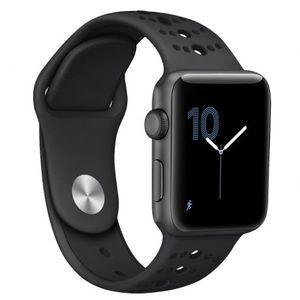 Apple Watch Silicone Sport 42/44mm szíj, Black kép