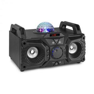 Fenton KAR100, sing station, 100 W, akkumulátor, USB, bluetooth, AUX bemenet, fekete kép