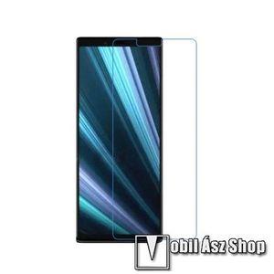 Képernyővédő fólia - Ultra Clear - 1db, törlőkendővel - SONY Xperia 1 kép