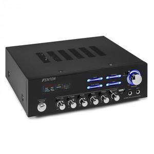 Fenton AV120BT, sztereó HiFi erősítő, 120 W RMS, (2 x 60 W 8 Ohm-ra), BT/USB/AUX kép