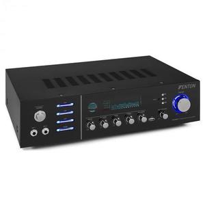 Fenton AV320BT, surround HiFi erősítő, 200 W RMS, (2 x 100 W 8 Ohm-ra), BT/USB/AUX kép