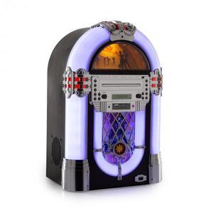 Auna Kentucky, jukebox, BT, FM rádió, USB, SD, MP3, CD lejátszó, fehér kép