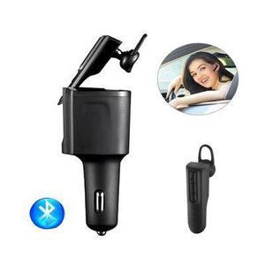 Autós szivargyújtós töltő, headsettel kép