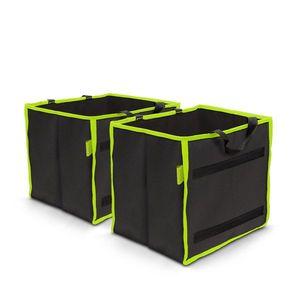 Autós rendszerező csomagtartóba 1 tárolórekesszel 25 x 30 x 30 cm 2 db / csomag kép