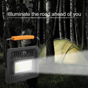 50 W Akkumulátoros hordozható LED reflektor kép